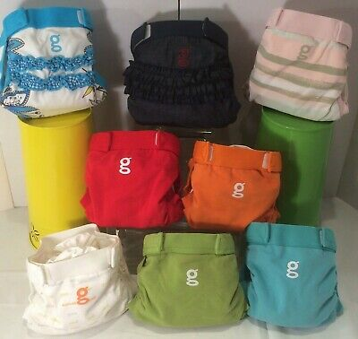 8 New Gdiapers Smalls 3 Limited Editions 5 Exclusive Gpants & Pouches
