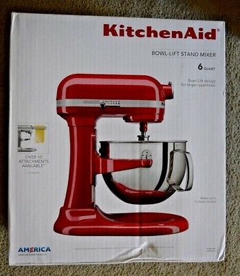 Kitchenaid 6 Qt Professional Bowl Lift Stand Mixer 590 Watt All