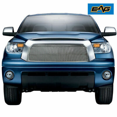 Replacement Aluminum Billet Grille W/ABS Chrome Shell for 07-09 Toyota Tundra