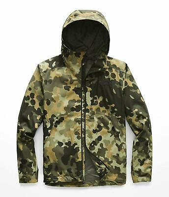 762819751ed88 The North Face Millerton Jacket Taupe Green Macrofleck Camo Print L  NF0A33Q66ET