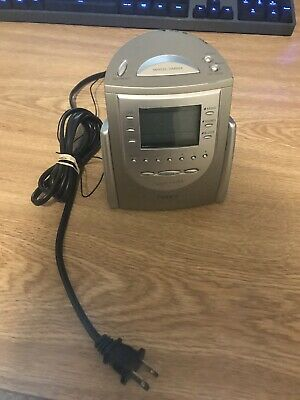 TIMEX T1201 AM/FM Alarm Clock Radio with Nature Sounds w