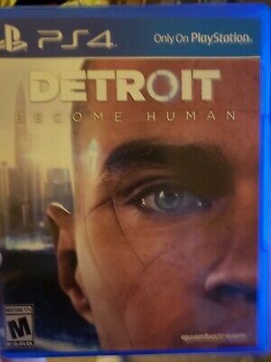 Detroit Become Human Ps4 Game Sony Playstation 4 ps4