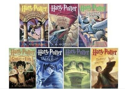 HARRY POTTER SERIES READ BY STEPHEN FRY(8books) - MP3 AUDIOBOOK-(no cd{links})