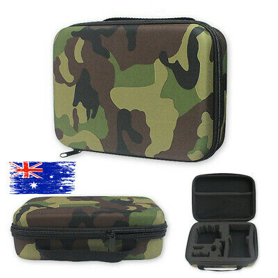 Travel Carry Hard Case Storage Bag Box Camo For GoPro Hero 7 Black 6 5 4 3 2 All