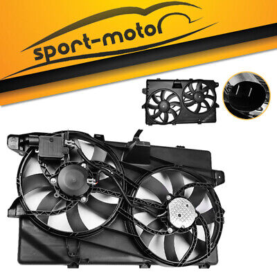 Radiator Dual Fan Assembly For Ford Edge Limited SE SEL Sport Lincoln MKX 3.5L