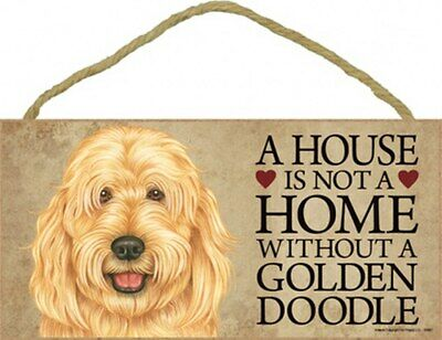 """A House Is Not A Home Without a CHIHUAHUA-Bk /& Tan--Wood Plaque//Sign 5/"""" x 10/"""""""
