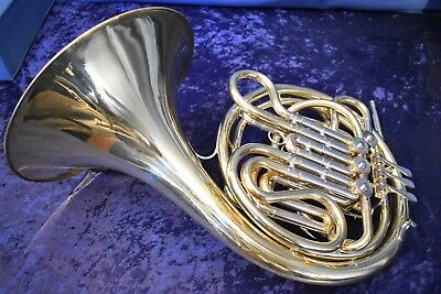 "1959 Holton H-77(became the 179)""Farkas"" Symphonic Double French Horn w/Case,Mpc"