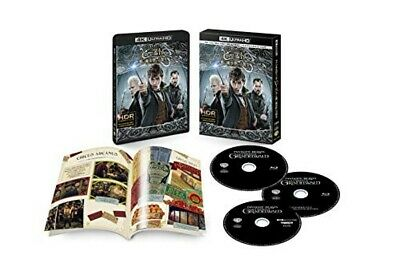 New Fantastic Beasts The Crimes of Grindelwald 4K ULTRA HD Blu-ray Booklet Japan