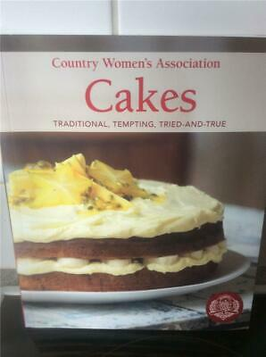 The Country Women's Association Cookbook CWA CAKES Traditional Tempting Tried