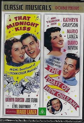 That Midnight Kiss/The Toast of New Orleans ( Mario Lanza ) - New Region All DVD
