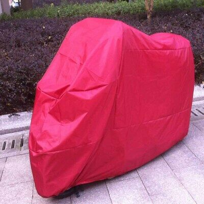 XXL Red Motorcycle Dust Cover Bag For Kawasaki Vulcan 750 800 900 1500 1600 2000