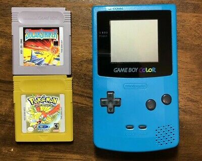 Teal GameBoy Color (Games included)