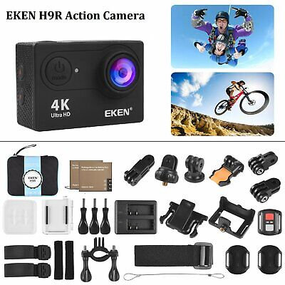 EKEN H9R Ultra 4K HD 1080P Sports Action Camera Wifi 20MP Waterproof + Bag Gift