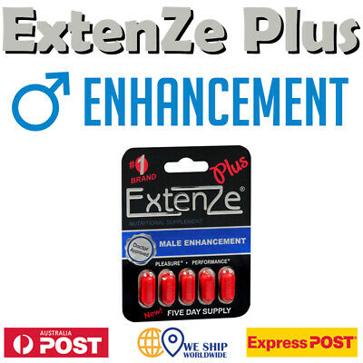 Extenze Plus Male Enhancement Zinc Oxide DHEA Pregnenolone Yohimbe Tribulus MACA