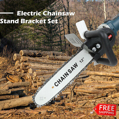 """12"""" Electric Chainsaw Stand Bracket Kit for 100 115 M10 Angle Grinde Machine"""