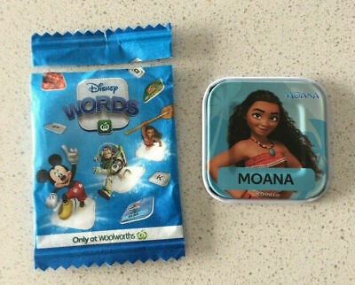 Woolworths Disney Word Tile MOANA - The Letter R Piece