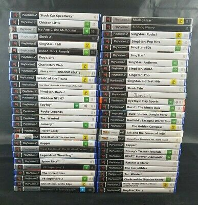 Sony Playstation 2 PS2 Games-Pick your Titles-Like New- PAL- Free Postage in Aus