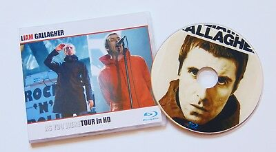 Liam Gallagher ~ As You Were Tour in HD ~ live Region Free Blu-Ray