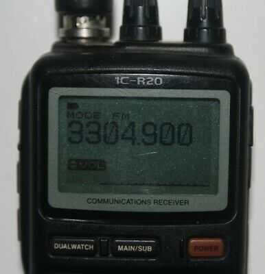 Icom Ic-R20 Communications Receiver.