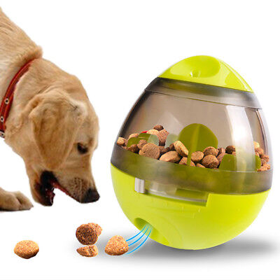 Pet Dog Puppy  IQ Test Treat Ball Interactive Food Dispensing Food Feed Toys New