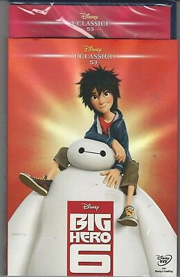 Dvd Big Hero 6  Disney Ed. Repack 2016 Slip Cover Nuovo Sigillato