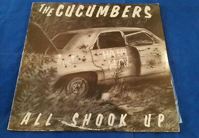THE CUCUMBERS- ALL SHOOK UP *NYC New Wave 1985 *Elvis Presley