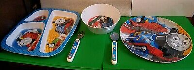 Baby 1992 Vintage Thomas The Tank Train Melamine Plastic Bowl Allcroft By Eden