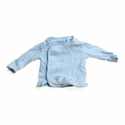 Kitestrings Baby Boys Comfy Sweater, size NB,  light blue,  cotton