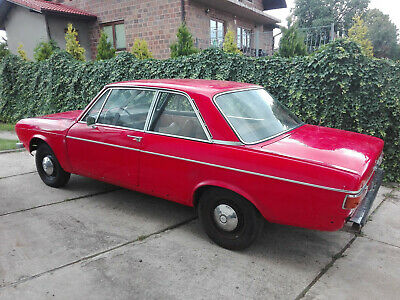 Audi 100 C1 NSU 1970 1.9 4 spd manual 2 dr sedan coupe rare