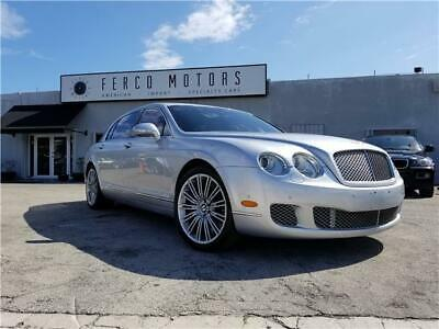 2010 Continental Flying Spur Speed 2010 Bentley Continental Flying Spur Speed 52,989 Miles Silver SEDAN 4-DR 6.0L W