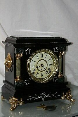 "ANTIQUE SETH THOMAS SHELF MANTLE CLOCK-Totally!!-Restored- c/1903 Model ""ARNO"""