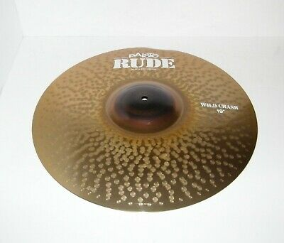 Paiste Rude Wild Crash Cymbal 19 in. - NEW - Minor Blem