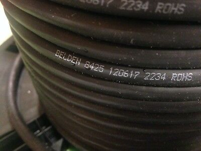 +/-100' Belden 8425 Multi-5 conduct*Microphone/Musical Instrument Cable *20 AWG