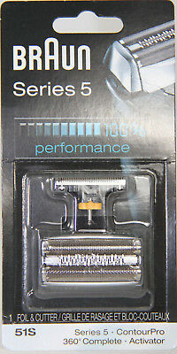 Braun Series 5 Replacement Combi 51S Foil & Cutter TAX INCLUDED