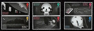 GB Stamps 2016 'Agatha Christie' - unmounted mint