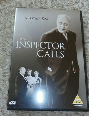 An Inspector Calls DVD Alastair Sim  - good used condition - plays perfectly