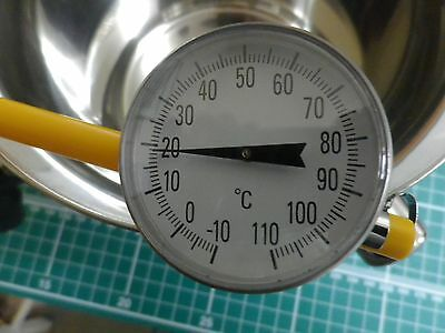 Pocket Dial Thermometer for Candle and Soap Making UK