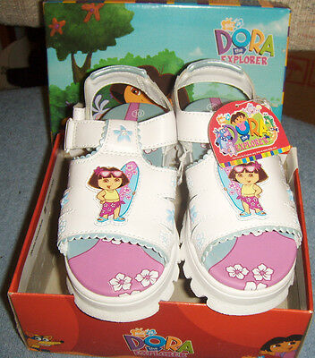 Dora The Explorer Girls Sandals Size 10 New With Tag
