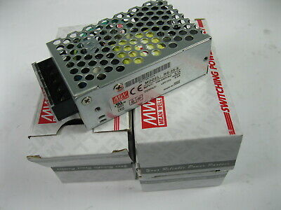 Mean Well RS-25-5 AC to DC Power Supply Single Output 25 Watt US Distributor