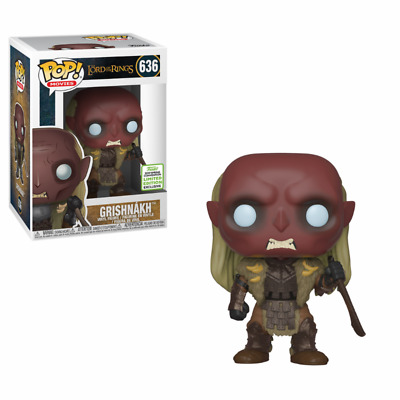 Figurine Funko POP! Movies The Lord of the Rings 636 Grishnakh ECCC 2019