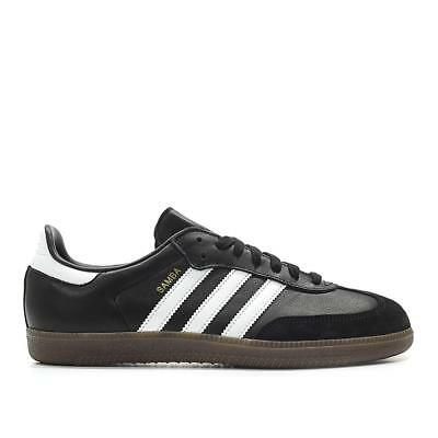 c908c76cf BZ0058} MEN'S ADIDAS Original SAMBA OG Shoes Black/White *New ...