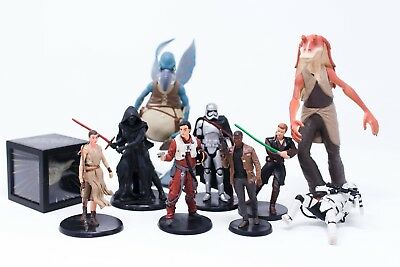 Star Wars Action Figures Figurines Toys Mixed Lot Include Vintage Items