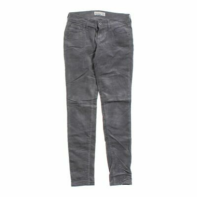 Old Navy Girls  Casual Pants size JR 1,  grey,  cotton, spandex