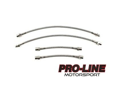 Volkswagen Golf MK2 1.8 GTi Rear Drums / 112 BHP (1988-1992) Braided Brake Lines