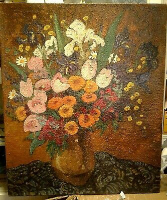 French impressionist 19th-century oil painting François Marius Berthet to $3000