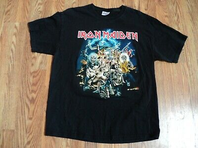 e819e59fa49 VINTAGE IRON MAIDEN Best Of The Beast T-Shirt Two Sided Large -  25.00
