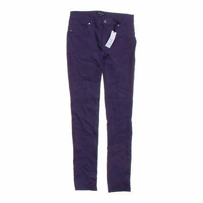 Shinestar Girls  Casual Pants size JR 11,  purple, black, grey,  nylon, rayon