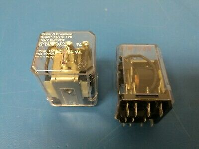 NEW OLD STOCK MAGNECRAFT W388AJCPX-14 RELAY 120VAC 3PDT 11-SPADE PIN