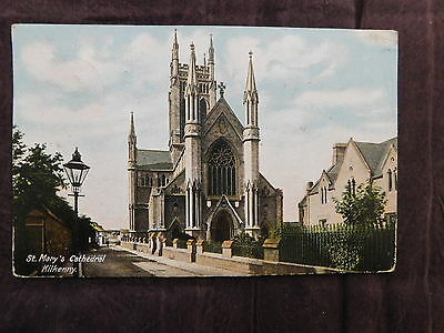 Vintage Postcard: St. Mary's Cathedral Kilkenny Ireland, posted 1905