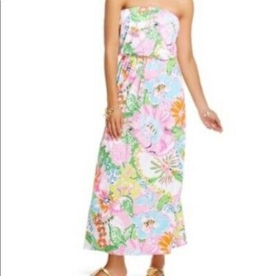 e1b2c1985353 LILLY PULITZER FOR Target Nwt Xs Nosey Posey Maxi Dress Petite ...